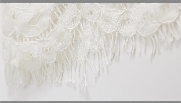 Скидки на Новые прибытия мать и дети мода платье вышивка белое кружево девушки летнее платье детская одежда для детей перевозку груза падения