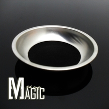 coin away / Coin Thru Glass / Visual Penetration close-up coin Magic Trick A coin through glass cup with no any cover(China (Mainland))