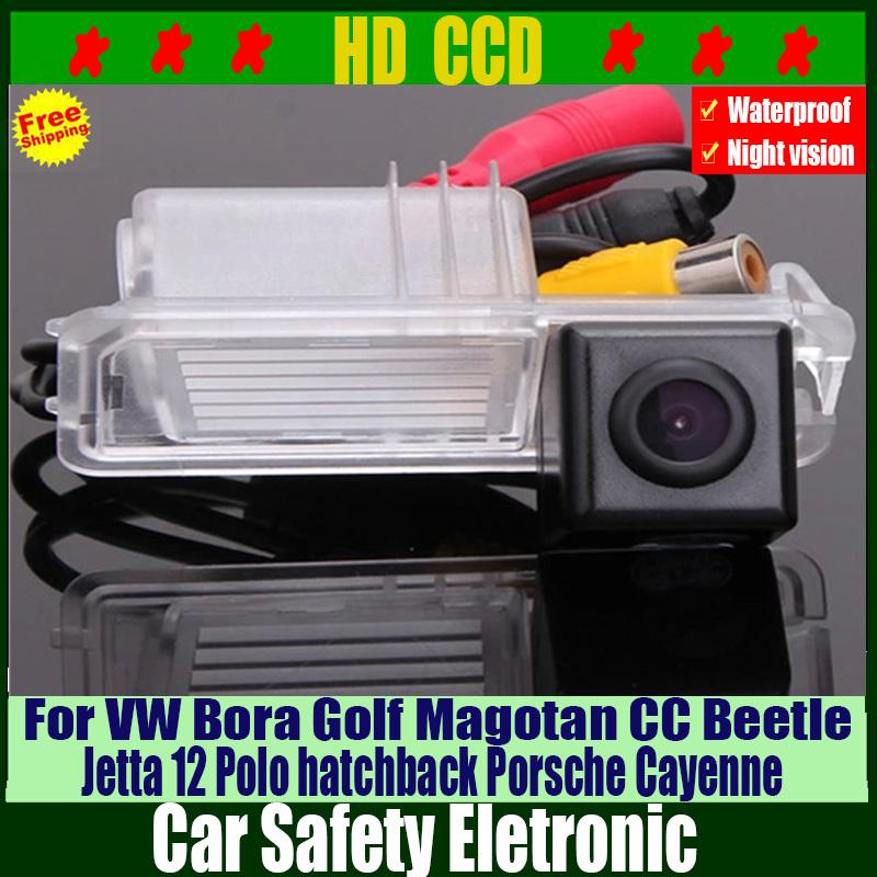 Car Accessories HD Car Rear View Parking Camera for VW Magotan Golf Bora Jetta CC 12 Polo hatchback Beetle For Porsche Cayenne(China (Mainland))