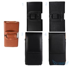 Smooth/Lichee Pattern Leather Waist Bag Clip Belt Pouch Mobile Phone Accessory Holster case cover skin For BQ BQS-4503 Dubai(China (Mainland))