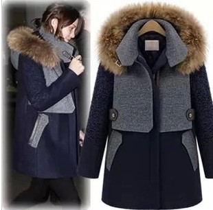 Womens Fur Hood Coats