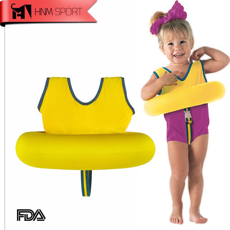 HNM SPORT Kids Life Jacket Vest Swimming Boys Girls Children's Swim School Tot Trainer Swimming Circle Ring Pool Accessories(China (Mainland))
