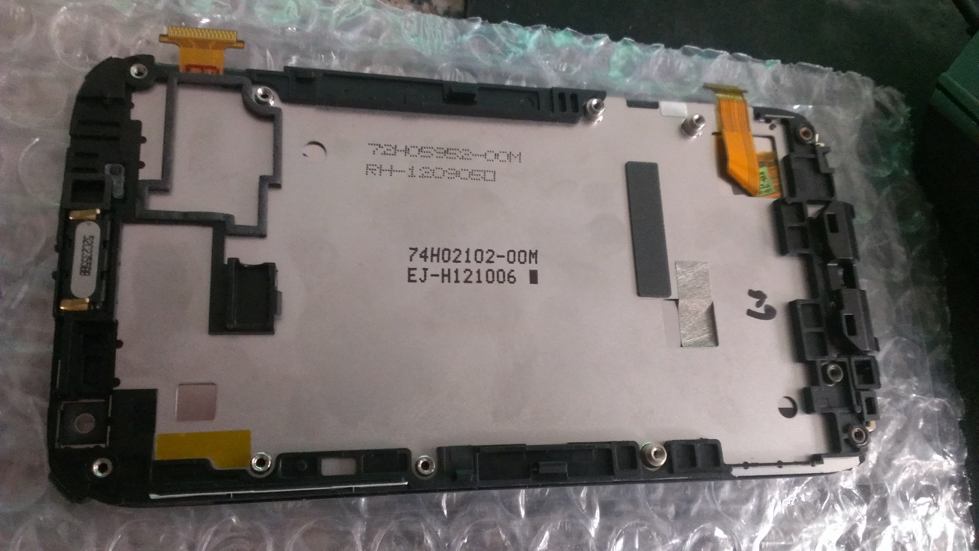 Original Full lcd display touch screen digitizer with frame for HTC  Sensation XL X315e free ship   white