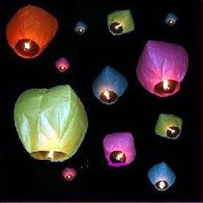 100pieces Sky Fire Chinese Lantern,wish making lantern for wedding birthday party freeshipping