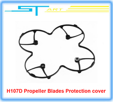 Free Shipping Hubsan H107D Spare Parts Propeller Blades Protection Guard Cover Ring for X4 drone helicopter FPV RC Quadcopter