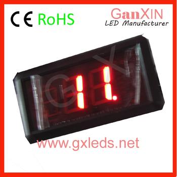 Hot product: 1.8inch Indoor mini led digital electronic counter   digital clock