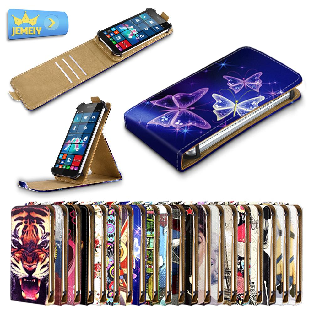 For Nokia X2 Dual Sim Universal High Quality Printed Flip PU Leather Cell Phones Case Cover Small Size(China (Mainland))
