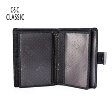 Buy Men Wallet Genuine Leather Design Large Capacity Men Purses Wallets Passport Pocket Coin Pocket Multiple ID Card Holder for $11.99 in AliExpress store