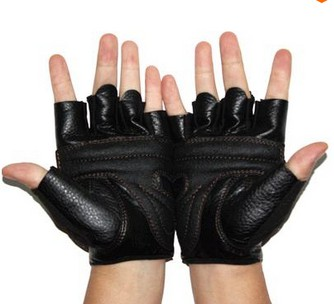 Sports Fitness Gloves Weightlifting Gym Gloves Bodybuilding Exercise Training Multifunction Synthetic Leather Half Finger Gloves