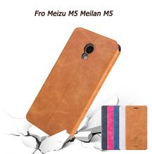 Buy Original Mofi Fro Meizu M5 Meilan M5 Luxury Flip PU Leather Cover Case Fro Meizu M5 Meilan M5 Card Slot Stand Function for $7.99 in AliExpress store