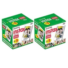 Fujifilm Instax Mini Instant Film100 Sheets for all Fujifilm Instax Mini CamerasPolaroid Mio 300 Lomo Diana instant Back