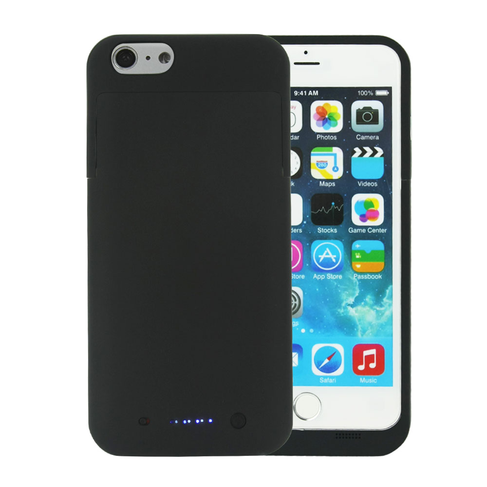 6800mah Rechargeable Backup Power Case Cover for iPhone 6/6s Plus External Battery Charger Charging Case Power Bank Phone Case(China (Mainland))