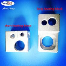 (5 pieces/lot)Heating block 3d printer kit  gadget CreatBot 3d metal printer Spare Parts  for sale Professional FDM DIY