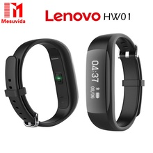 Buy Original New Lenovo HW01 Bluetooth 4.2 Smart Wristband Heart Rate Moniter Pedometer Sports Fitness Tracker Android iOS Phone for $23.88 in AliExpress store