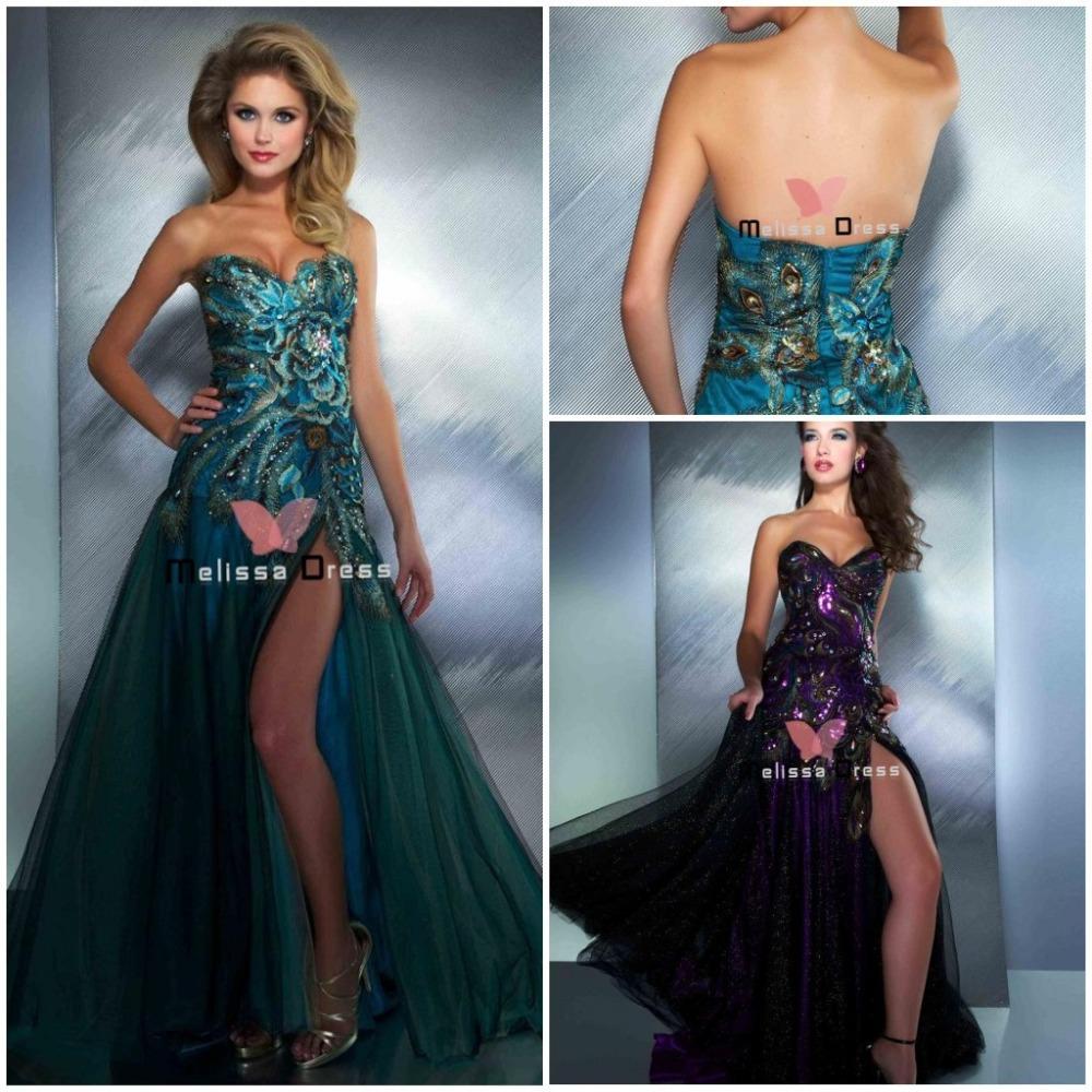 Vestidos de novia de pavo