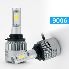 Buy Super bright Auto Car H1 H3 H4 H7 H11 9005 9006 LED Headlights 72W 6500K 8000LM 12V COB Bulbs Automobiles Replace Parts Lamp for $16.58 in AliExpress store