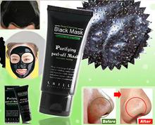 Deep Cleansing purifying peel off Black mud Facail face black mask Remove blackhead facial mask 50ml black head (China (Mainland))
