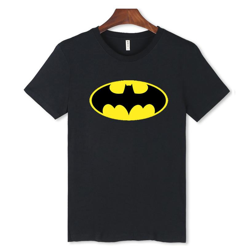 New Fashion Cartoon Batman T-Shirts Men O Neck Short Sleeve Cotton Mens T Shirt European Style in soft cotton tees(China (Mainland))