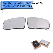 Buy 2x Car Heated Rearview Mirror Glass Mercedes Benz S Class W220 / Cl Class C215 S65 S55 S430 S500 S600 CL500 CL55 CL600 #W112 for $58.35 in AliExpress store