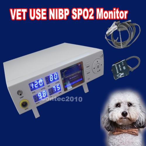CMS5000VET Vet Use Tabletop Blood Pressure Oximeter SPO2 Pulse Rate Vital Signs Multiparameter Monitor(China (Mainland))