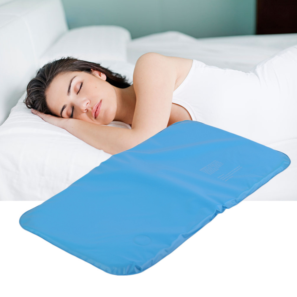 2017 Newest Multifunction Cooling Blue Pillow Cold Therapy Insert Sleeping Aid Pad Mat Muscle Relief Cooling Pillow