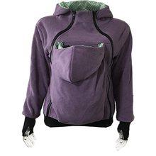 Куртка-переноска для малышей на молнии, осенне-зимние модели, тройная, мультифункциональная, для мамы, свитер-кенгуру, пальто, толстовки для ...(China)