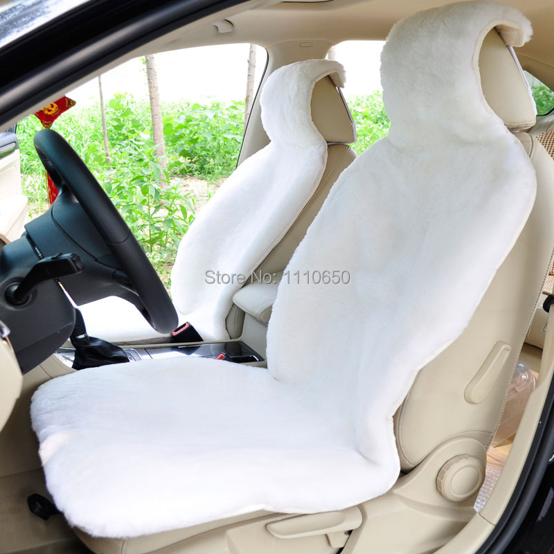 Seat Cover For One Front seat,Cushion Wool Interior Accessories Safety Lada Ford Focus Kia   toyota Car sheepskin<br><br>Aliexpress