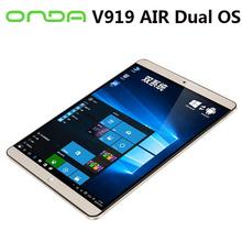 Onda win10 tablet V919 Air Dual OS 9.7inch Retina 2048x1536 Bluetooth Dual camera(China (Mainland))