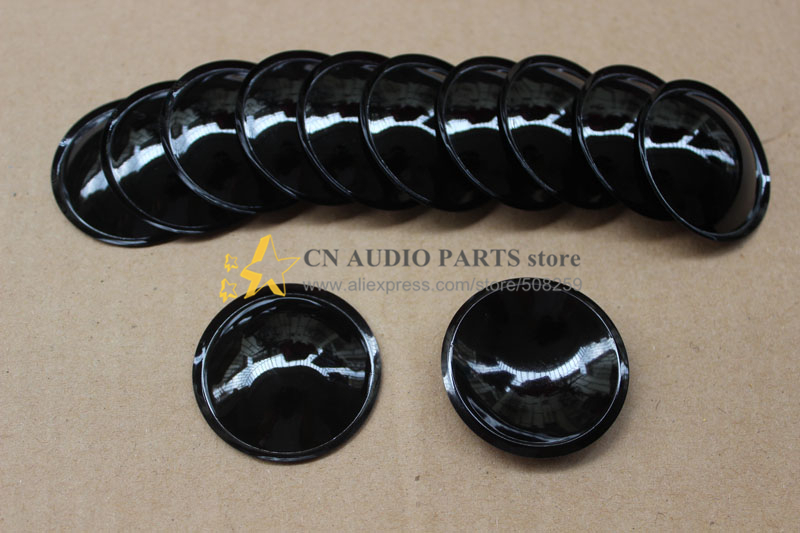 A pair 35mm Aluminum titanium alloy FOR SUBWOOFER, BASS SPEAKER DOME DUST CAP(China (Mainland))