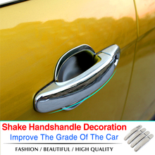 ABS Chrome trim Door Handle Covers fit for Ford focus 2 MK2 ,2005-2011 2012 2013 / focus 3 MK3 ,2012-2015 ,car styling(China (Mainland))