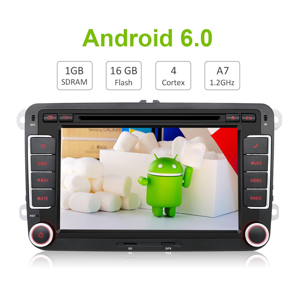 Buy Two Din 7 Inch Car Dvd Player For Skoda Octavia Fabia