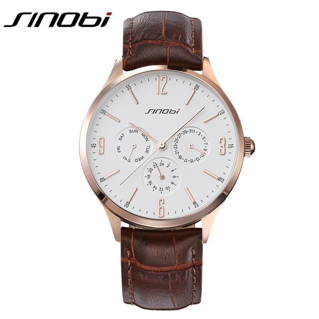 Мода свободного покроя люксового бренда мужчин кварцевые часы с шесть рук датой автокалендарь неделю бизнес наручные часы Relojes хомбре новый
