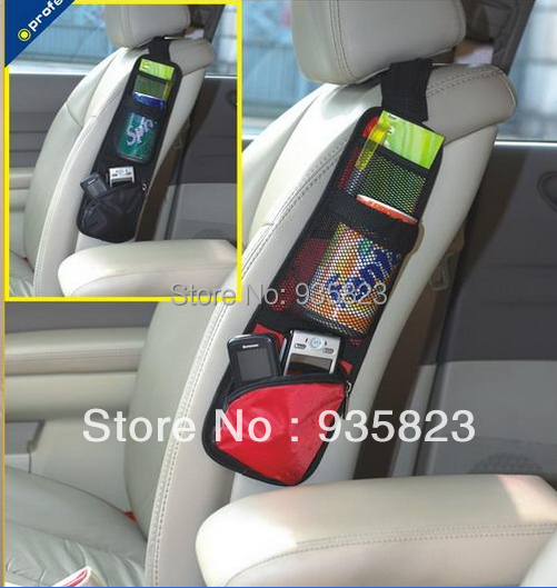 Car Auto Vehicle Seat Side Back Storage Pocket Backseat Hanging Bags Organizer receive bag - Shen zhen Jie Feng Technology Co., LTD store