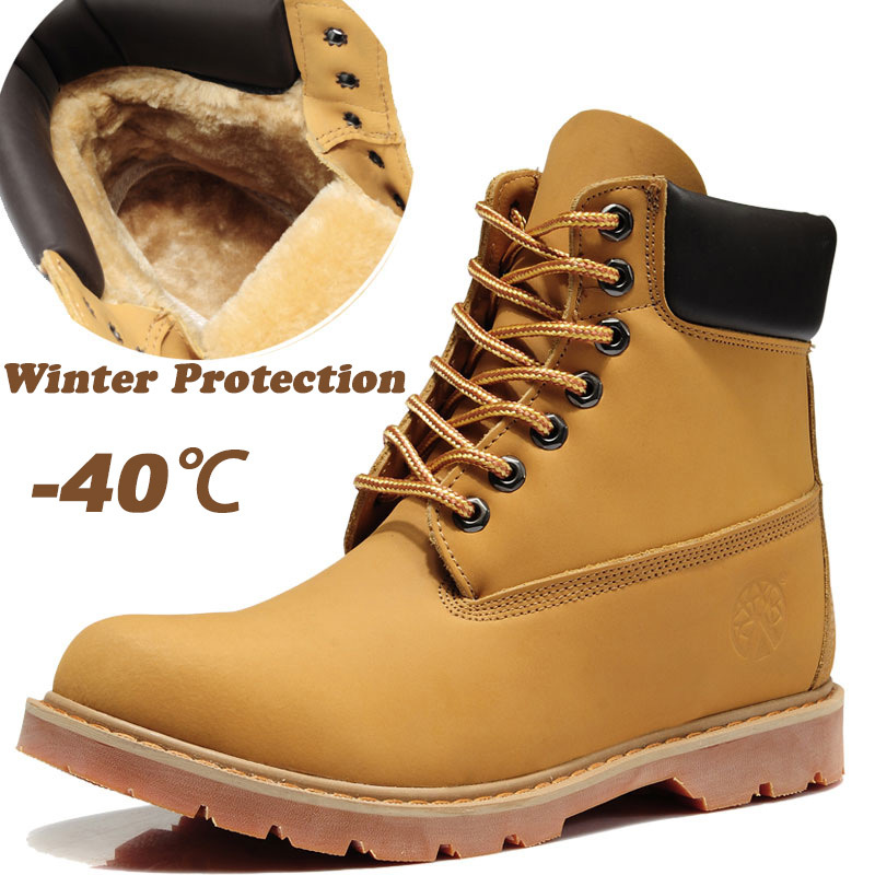 Waterproof Winter Boots For Men - Cr Boot