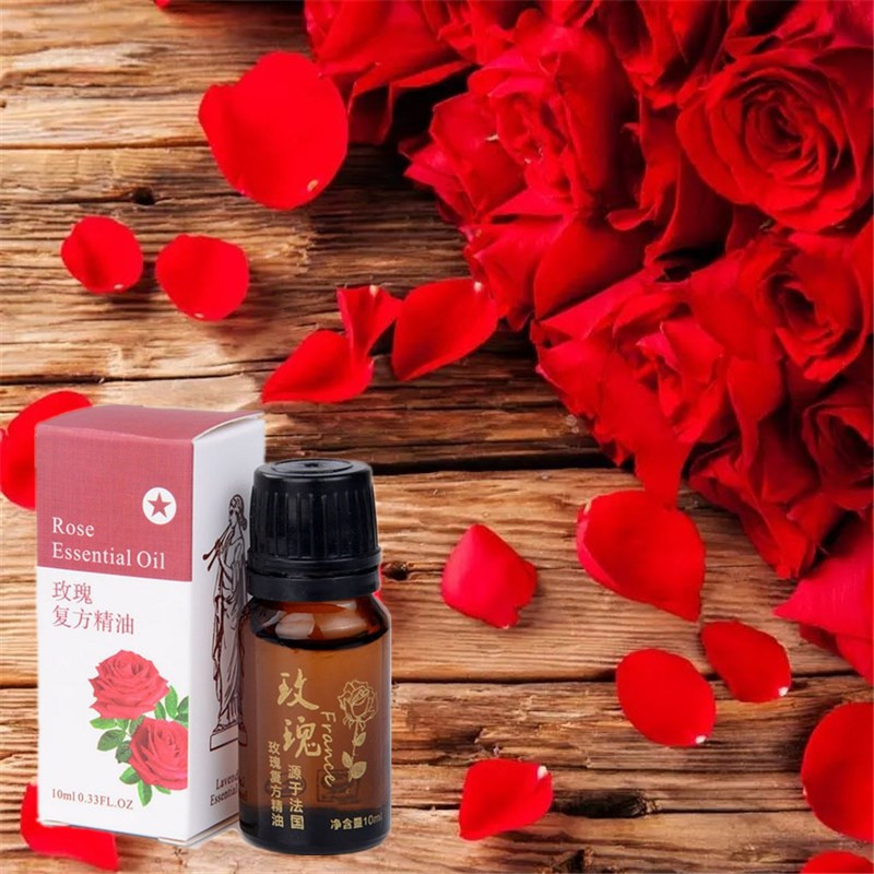 10ml NewRose essential oil for Body Massage Fat Burning Slimming Burn Fat Lose Weight Fast Rose essential oil Slimming Creams(China (Mainland))