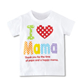 Special Offer Children Boys Girls T Shirt I Love Pa Pa Ma Ma Series T Shirt
