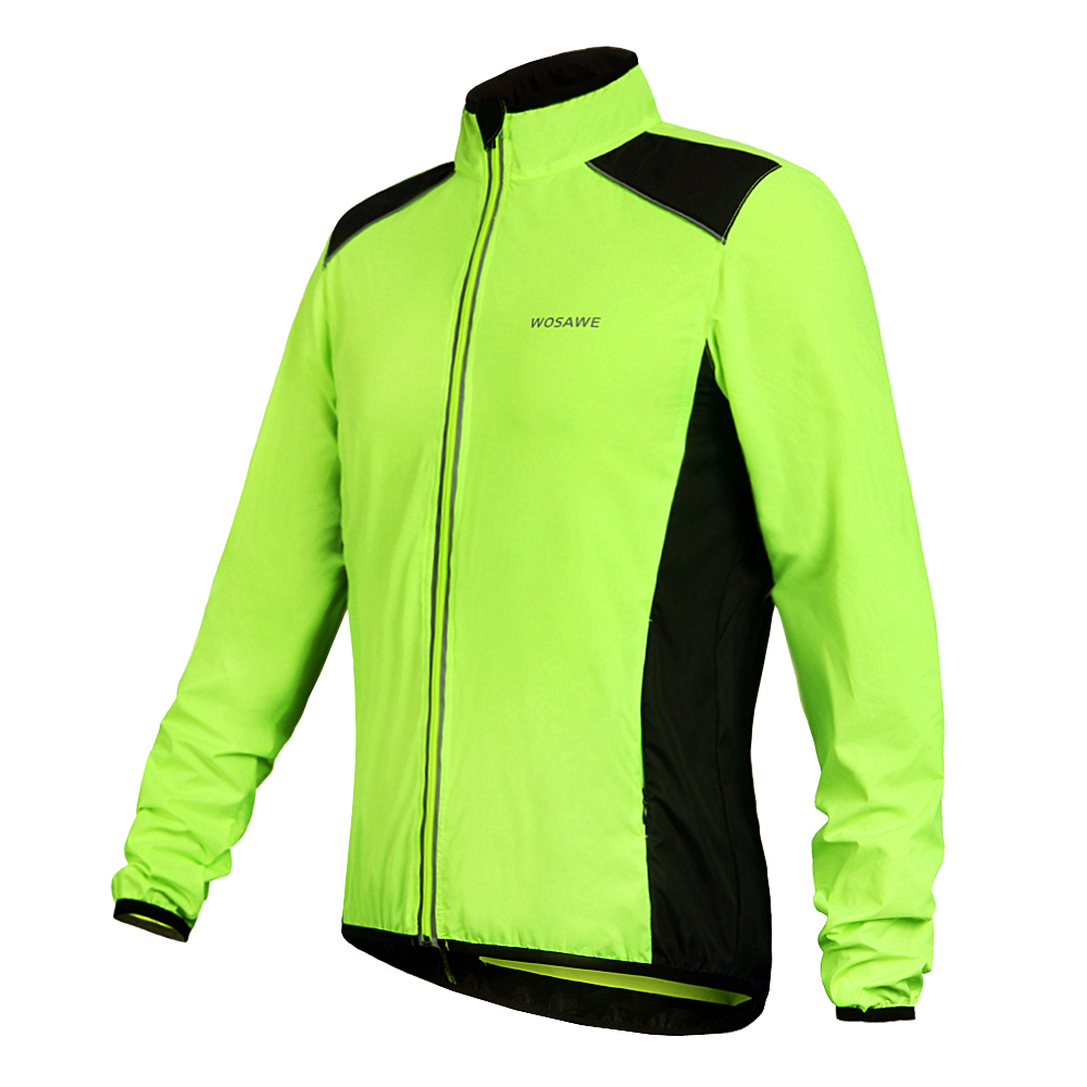 Breathable Windproof Cycling Jacket Bike coat Bicycle Jacket Coat Bike Windbreak Clothes men long sleeve cycling jersey BC240(China (Mainland))