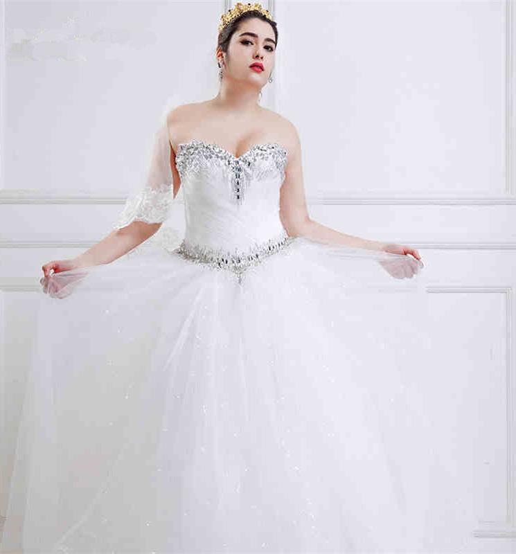 full figured wedding dresses ball gown full figure wedding