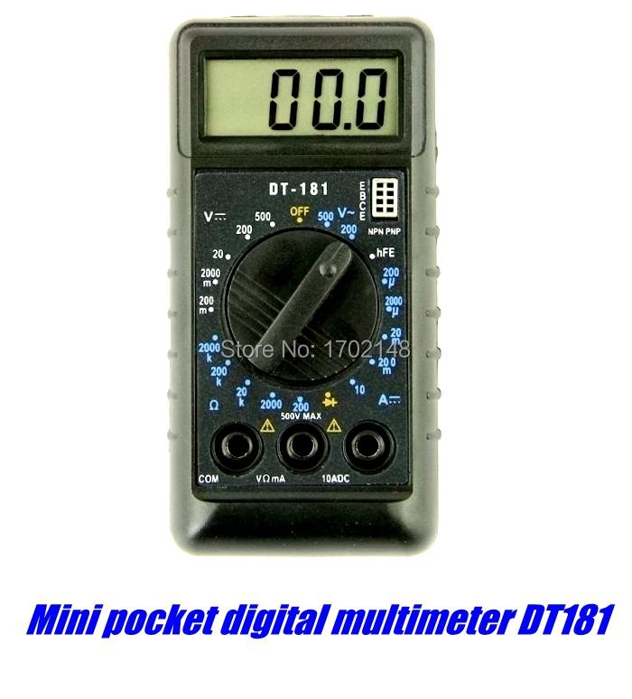 Карманный цифровой мультиметр