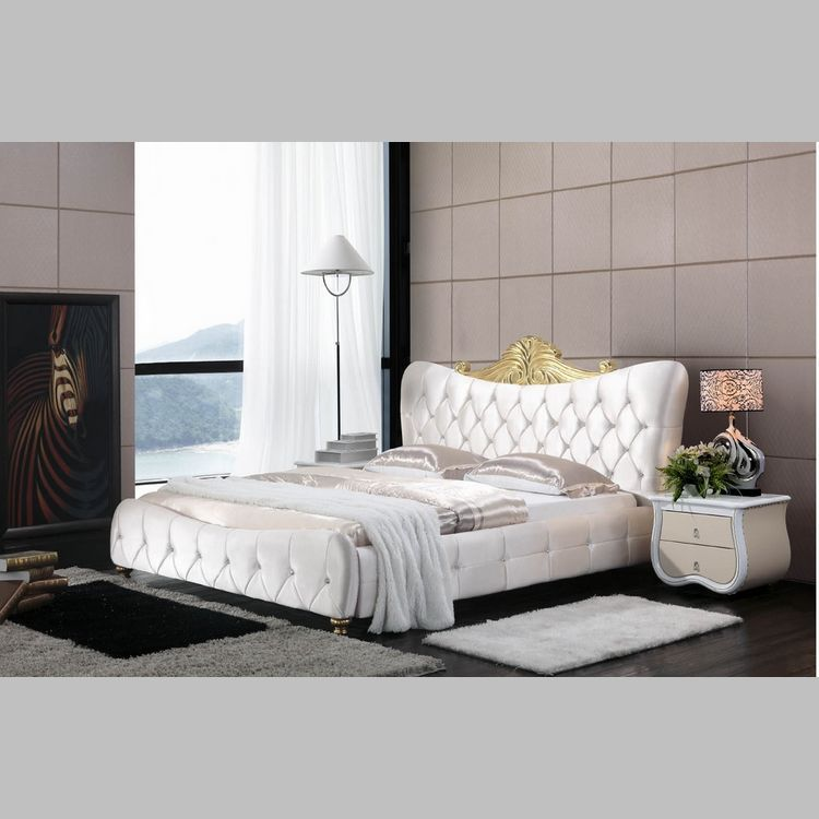 High quality fabric bed soft bed modern bed bedroom for High quality bedroom furniture