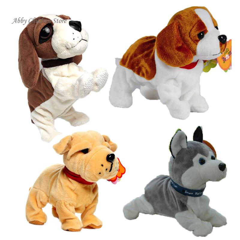 Sound Control Electronic Dogs Interactive Electronic Pets Robot Dog Bark Stand Walk Electronic Toys Dog For Children Christmas(China (Mainland))