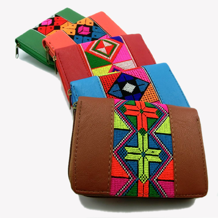 Embroidered Leather Bag Leather Thai Bag Price