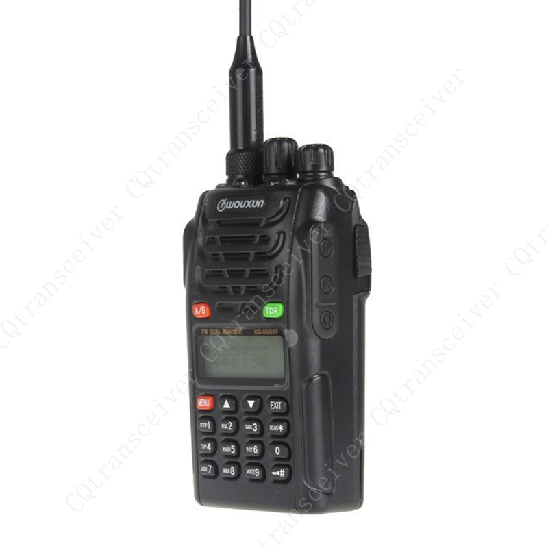 WOUXUN KG-UVD1P Dual Band Two Way Radio VHF 136-174MHz & UHF 400-470MHz Handheld Transceiver with VOX Function(China (Mainland))