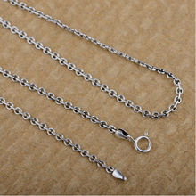 100% real pure 925 sterling silver chain women letter O chain silver 925 Dita August top quality free shipping (China (Mainland))