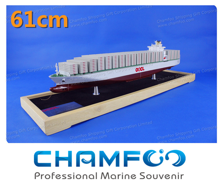 Diecast Metal Container Ship Model Cargo Ship Ship Model Customized Marine Souvenir Shipping Gift Office Decoration OOCL(China (Mainland))