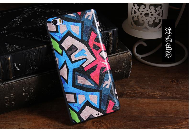 High Quality Xiaomi Mi Note Case Cartoon 5.7 Inch Soft TPU Material Mobile Phone Back Cover For Xiaomi Mi Note Cover(China (Mainland))