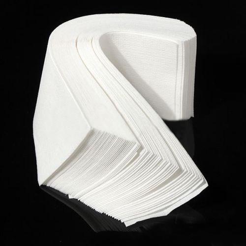 Creative 2015 Brand New Fashion 100 pcs Hair Removal Depilatory paper Nonwoven Epilator Wax Strip Paper Roll Waxing(China (Mainland))