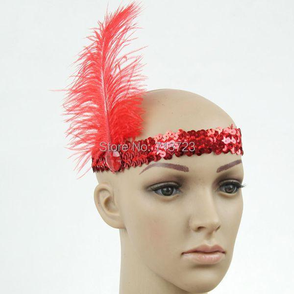 Flapper Headpiece nz Headpiece Flapper Feather