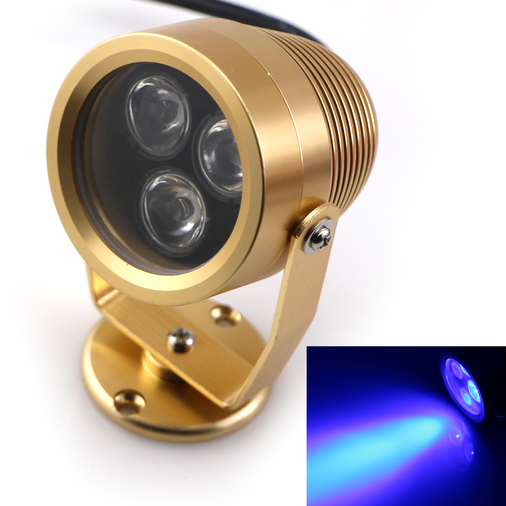 3 Lens DC12V 3*1W IP68 LED Underwater Lights Outdoor Indoor Landscape Garden Lighting Waterproof Lamp for Fountain Swimming Pool<br><br>Aliexpress