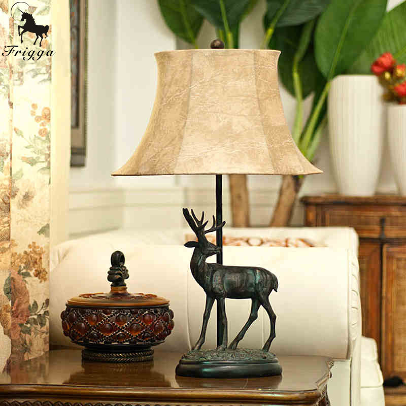 lamp european luxury living room bedroom bedside table lamp decorated